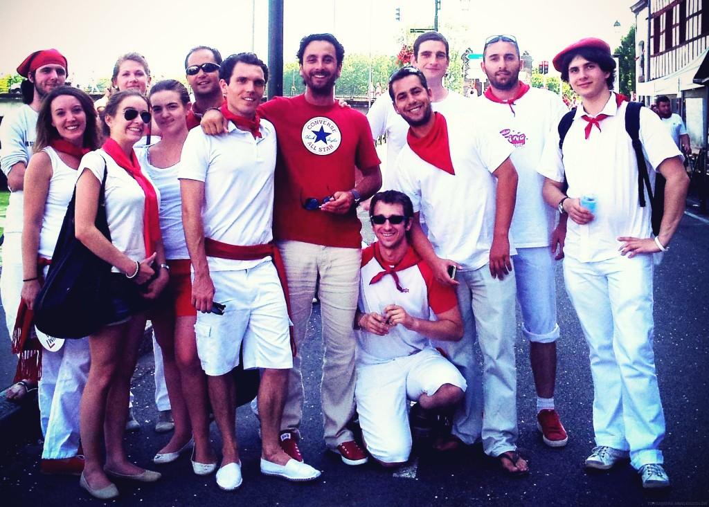 MyWebShop aux Fêtes de Bayonne pour la journée corpo