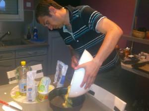 Cooking Friday Dimitri Préparation
