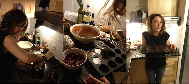 Laetitia Cooking Friday