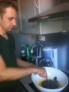 Préparation cooking friday 7 Dimitri