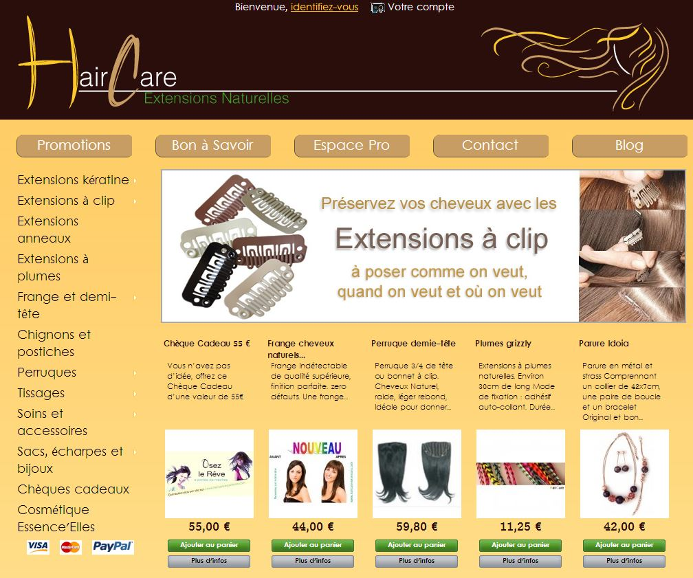 haircare extensions