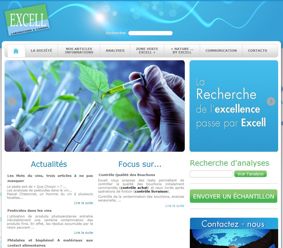 laboratoire excell