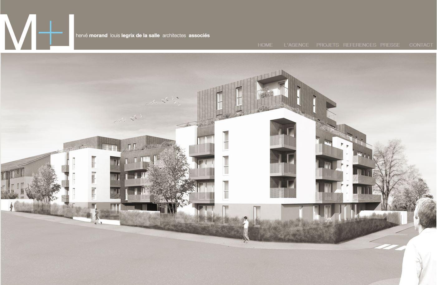 Cabinet d 39 architecture morand legrix associ s for Architecte region parisienne